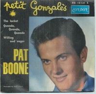 "45 Tours EP -  PAT BOONE    - LONDON 10121  "" PETIT GONZALES "" + 3  ( Pochette VIDE - SEULE ) - Other - English Music"