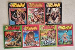 RAHAN. Lot De 7 Bd Toutes Différentes.( 7+24+25+27+29+31+32) (voir Description) - Rahan
