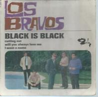 "45 Tours EP -  LOS BRAVOS  - BARCLAY 071050  "" BLACK IS BLACK "" + 3  ( Pochette VIDE - SEULE ) - Other - English Music"