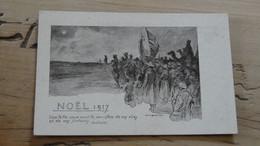 CPA WWI, Noel 1917, Illustrée Par BURNAND ............... 5436 - Guerre 1914-18