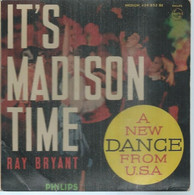 """45 Tours EP -  RAY BRYANT  - PHILIPS 429852  """" IT'S MADISON TIME """" + 2  ( Pochette VIDE - SEULE ) - Other - English Music"""