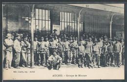CPA 62 - Auchel, Groupe De Mineurs - Andere Gemeenten