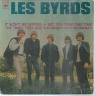 """45 Tours EP -  LES BYRDS  - CBS 5668  """" SET YOU FREE THIS TIME """" + 3  ( Pochette VIDE - SEULE ) - Other - English Music"""