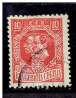 SERBIE. ( Y&T) 1918 - N°136  * Effigie De Pierre 1er Et Du Prince Régent Alexandre *  10p (obli) - Serbia