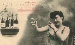 LES BUVEUSES LA BUVEUSE DE CHAMPAGNE CLICQUOT 1906 - Mujeres