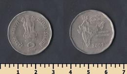 India 2 Rupee 2002 - India