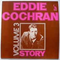 Eddie Cochran Story  3 LIBERTY LBS 83432 TBE - Rock