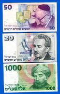 Israel  3  Billets - Israël