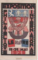 LE HAVRE - Exposition Philatélique 18-26 Mai 1929. - Altri