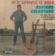 """45 Tours EP -  ADRIANO CELENTANO  - POP 3099  """" SI E' SPENTO IL SOLE """" + 3  ( Pochette VIDE - SEULE ) - Other - English Music"""