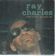 """45 Tours EP - RAY CHARLES  - ABC 90886  -   """" HIT THE ROAD JACK """" +  3  ( Pochette VIDE - SEULE ) - Other - English Music"""