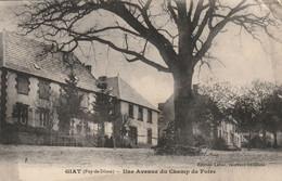 GIAT -  Une Avenue Du Champ De Foire - Sonstige Gemeinden