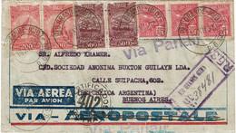 CTN70 - BRESIL  LETTRE AVION VIA PANAIR RIO GRANDE / BUENOS AIRES 15/12/1932 - Airmail