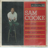 """45 Tours EP - SAM COOKE  - RCA 86371  -   """" GOOD NEWS  """" +  3  ( Pochette VIDE - SEULE ) - Other - English Music"""