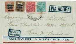 CTN70 - BRESIL  LETTRE AVION BAHIA / RIO DE JANEIRO 6/7/1929 - Airmail