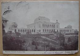 CP. 3930. Roumanie. Palatul Artelor, Exposition De 1906 Avec Vignette - Rumänien
