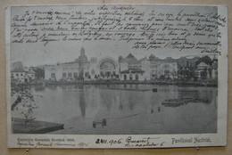 CP. 3931. Roumanie. Palatul Austriei, Exposition De 1906 Avec Vignette - Rumänien