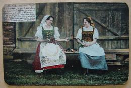 CP. 3932. Roumanie. Costumes Tradionnels, Port National Roman - Rumänien