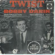 "45 Tours EP - BOBBY DARIN   - ATLANTIC 212047  -   "" MULTIPLICATION  "" +  3  ( Pochette VIDE - SEULE ) - Other - English Music"