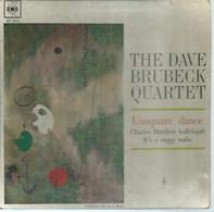 "45 Tours EP - THE DAVE BRUBECK QUARTET   - CBS 5611  -   "" UNSQUARE DANCE  "" +  3  ( JAZZ )  ( Pochette VIDE - SEULE ) - Other - English Music"