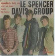 """45 Tours EP - LE SPENCER DAVIS GROUP  - FONTANA 465305  -   """" SOMEBODY HELP ME """" +  3  ( Pochette VIDE - SEULE ) - Other - English Music"""