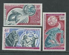 Dahomey  N° 315 / 17 XX Fables De La Fontaine, Les 3 Valeurs Sans Charnière,  TB - Benin - Dahomey (1960-...)