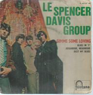 "45 Tours EP - LE SPENCER DAVIS GROUP  - FONTANA 465337  -   "" GIME SOME LOVING "" +  3  ( Pochette VIDE - SEULE ) - Other - English Music"