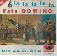 """45 Tours EP - FATS DOMINO  - POLIDOR 27743  -   """" LA-LA-LA  """" +  3  ( Pochette VIDE - SEULE ) - Other - English Music"""
