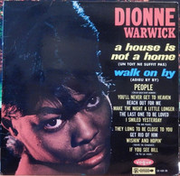 """Dionne Warwick 33t. LP """"a House Is Not A Home"""" - Soul - R&B"""