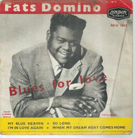 """45 Tours EP - FATS DOMINO  - LONDON 1062  -   """" MY BLUE HEAVEN """" +  3  ( Pochette VIDE - SEULE ) - Other - English Music"""