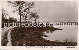 ROCHDALE HOLLINGWORTH LAKE OLD R/P POSTCARD LANCASHIRE - Otros