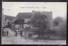 CPA 77 - Saint-Rémy-Delavanne, La Mare - Autres Communes