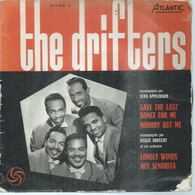 """45 Tours EP - THE DRIFTERS  - ATLANTIC 212031  -   """" SAVE THE LAST DANCE FOR ME NOBODY BUT ME """" +  3  ( Pochette VIDE - - Other - English Music"""