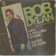 """45 Tours EP - BOB DYLAN  - CBS 6107  -   """" LIKE A ROLLING STONE """" +  1  ( Pochette VIDE - SEULE ) - Other - English Music"""