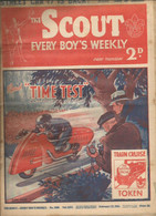 PN / RARE  Revue Ancienne SCOUT 1935  Cover TIME TEST Moto Motocycle  SPEEDSTER - Cultural