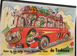 De TOULOUSE, Dans Le Car Nous Avons Les Jolies Vues - Toulouse