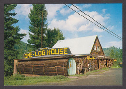 114977/ CALIFORNIA, Redwood National And State Parks, One Log House, Avenue Of The Giants - Sin Clasificación