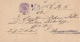 DR Brief EF Minr.32 K1 Birnbaum 18.12.77 Gel. Nach Neumerine Und Zurück - Briefe U. Dokumente