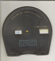 Disque De Stationnement Usagé (publicité : Le Vrai Confort C'est L'électricité) - Sin Clasificación