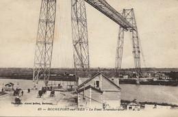 ROCHEFORT SUR MER LE PONT TRANSBORDEUR  ANIMÉE - Rochefort
