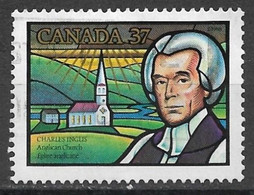 Canada 1988. Scott #1226 (U) Charles Inglis (1734-1816), Bishop And Anglican Church *Complete Issue* - Used Stamps