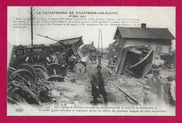 CPA Villepreux - Les Clayes Sous Bois - Accident Ferroviaire Du 18 Juin 1910 - Non Classés