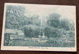 SUVA - ISOLE FIJI - BOTANICAL GARDENS - POSTCARD FROM SUVA 26 DIC 1921 TO SONDRIO - ITALY - Monde