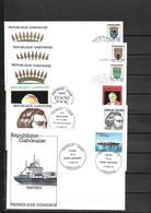 GABON ANNEE 1982  24 FDC ANNEE COMPLETE SAUF 503/506 - Gabon (1960-...)