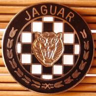 Joli Pin's Gros Logo Jaguar (GM) 3,5 Cm, émail Grand Feu, TBQ, Pins Pin. - Jaguar