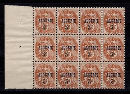 Algerie - YV 86 N** En Bloc De 12 BdF - Unused Stamps