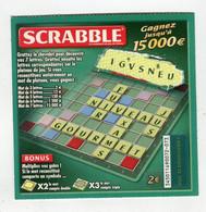 Ticket Jeu °_ FDJ-Scrabble-0072.073 - Lottery Tickets