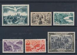 EC-718: FRANCE: Lot Avec Poste Aérienne* N°20-24/27-29 - 1927-1959 Nuevos