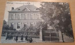 PETEGEM BIJ OUDENAARDE, PETEGHEM VILLA DU DOCTEUR PLANQUART, 1912, Rechterbovenhoek Geplooid - Oudenaarde