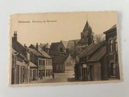 Carte Postale Ancienne WOLVERTEM Steenweg Op Merchtem - Meise